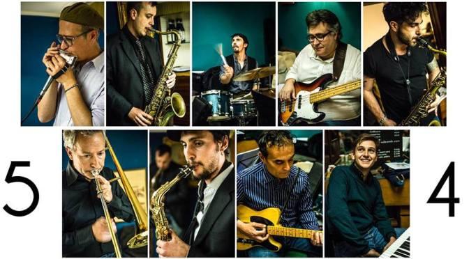 "24 marzo 2018 ""5°4° – Sdoganization – Improvvisazione Jazz su standard classici"" al Gatsby Cafè"