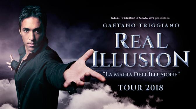 """27 – 29 marzo 2018 """"Real Illusion"""" al Teatro Brancaccio"""