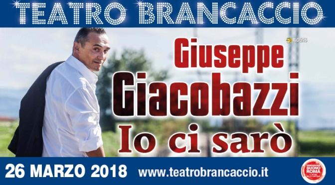 "26 marzo 2018 ""Io ci sarò"" al Teatro Brancaccio"