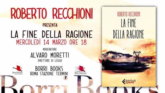 """14 Marzo 2018 presentazione del libro """"La fine della ragione"""" alla Libreria Borri Books"""