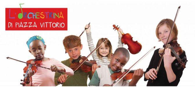 Riaperte le iscrizioni per l'Orchestrina di Piazza Vittorio fino al 30 marzo 2018