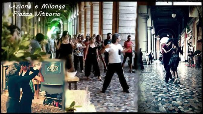 28 aprile 2018 Lezione, Apericena, Milonga-Portici Di Piazza Vittorio al Gatsby Cafè