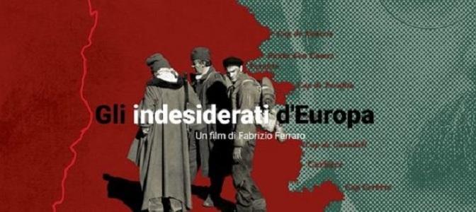 """11 maggio 2018 """" Gli indesiderati d'Europa"""" all'Apollo11"""