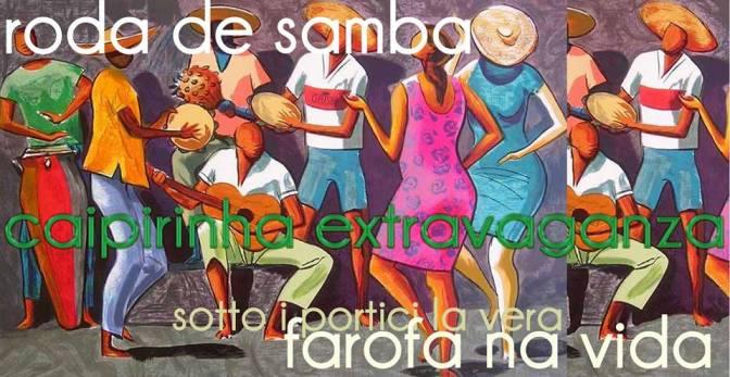 """29 novembre 2018 """"Samba de Mesa, Farofa na Vida – Caipirinhas"""" al Gatsby Cafè"""