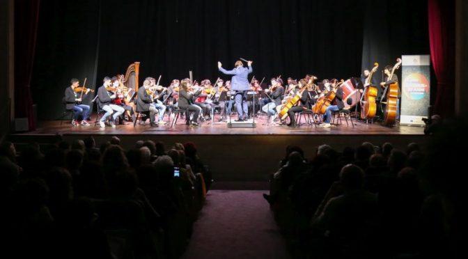 "8 maggio 2018 Orchestra Erasmus ""Concerto per l'Europa"" al Teatro Brancaccio"