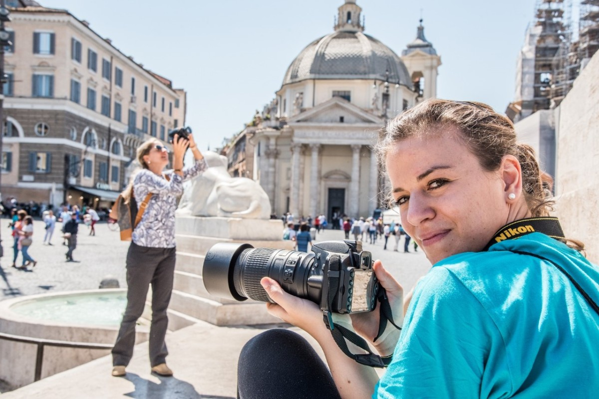 27 maggio 2018  4° edizione della Roma Photo Marathon a Piazza Vittorio