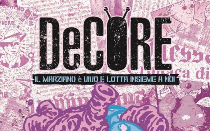"""1 giugno 2018 """"DeCore atterra al Palazzo del Freddo"""" presso la Gelateria Fassi"""