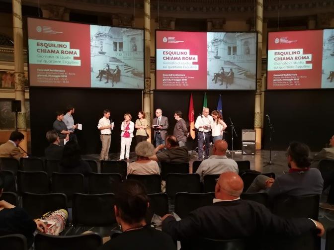 """Echi dell'evento """"Esquilino chiama Roma"""" del 31 maggio 2018"""