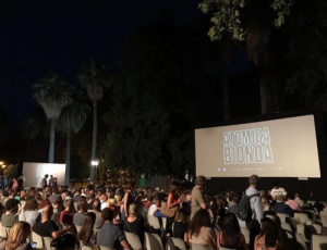 Outdoor cinema at Piazza Vittorio, Rome – 2018