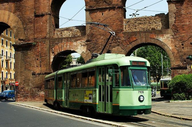 Dal 30 luglio 2018 Lavori sui binari del tram a Porta Maggiore: tutte le variazioni dei mezzi pubblici