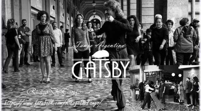 """1 luglio 2018 """"Tango Argentino sotto i Portici Di Piazza Vittorio – Gatsby Café"""""""