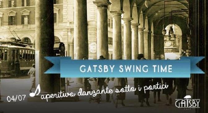 "4 luglio 2018 ""Gatsby Swing Time"" al Gatsby Cafè"