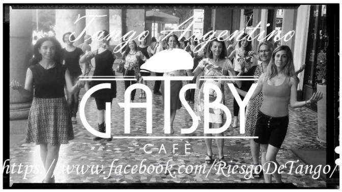 25 luglio 2018 Ultimo appuntamento con il Tango sotto i Portici di Piazza Vittorio al Gatsby Cafè