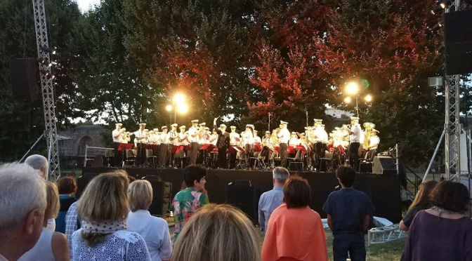 Banda della Polizia di Roma Capitale: dal concerto eseguito a Santa Croce in Gerusalemme omaggio a Alberto Sordi