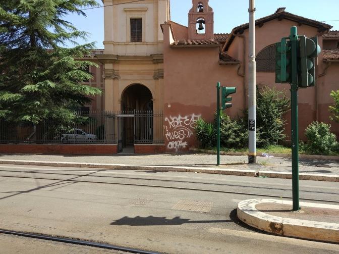 Di nuovo vandali in azione a Santa Bibiana