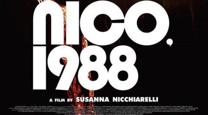 """23 luglio 2018 """"Nico 1988"""" all'Apollo 11"""