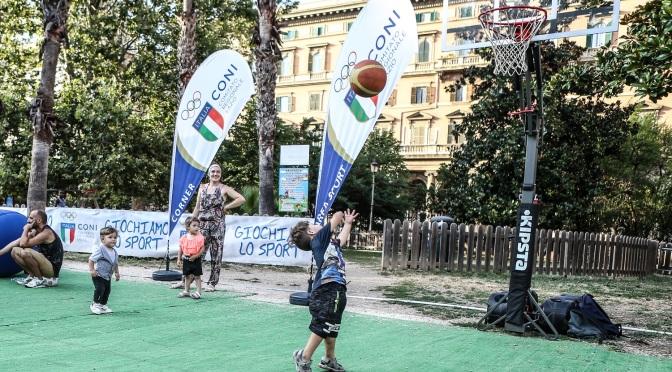 30 agosto – 2 settembre 2018 ultimo week end di sport gratuito a Piazza Vittorio