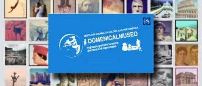 7 ottobre 2018 #DOMENICALMUSEO Musei gratis per tutti