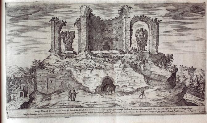 L'Esquilino ai tempi di Etienne Duperàc (1575)