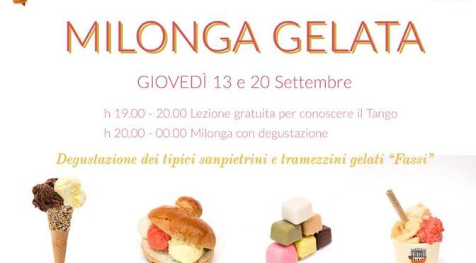 """20 settembre 2018 """"Milonga Gelata"""" al Palazzo del Freddo"""