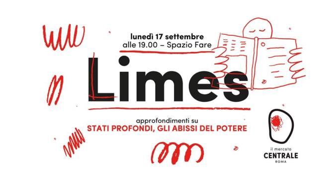 """17 settembre 2018 – Presentazione del nuovo numero di Limes """"Stati profondi, gli abissi del potere"""" al Mercato centrale"""