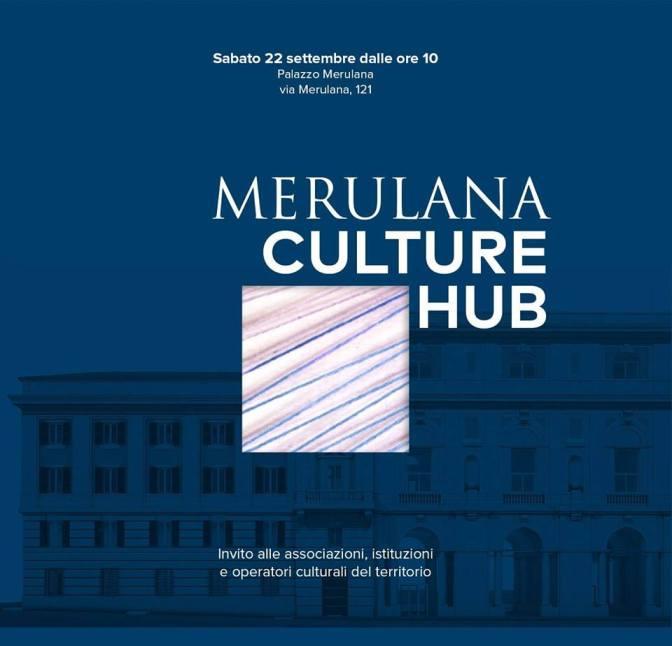 """22 settembre 2018 """"Merulana Culture Hub"""" al Palazzo Merulana"""