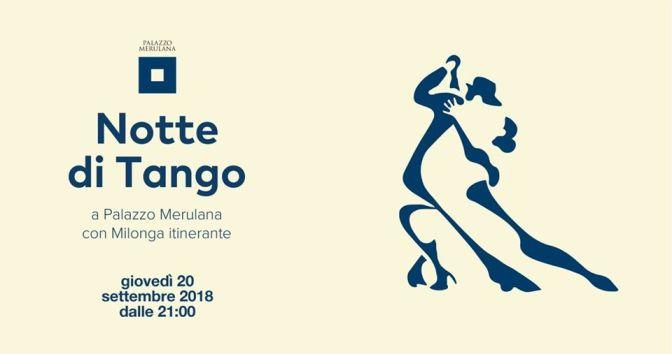 "20 settembre 2018 – ""Notte di Tango"" a Palazzo Merulana"