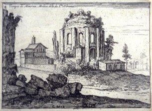 1629 G.B. Mercati: Tempio di Minerva Medica e Santa Bibiana