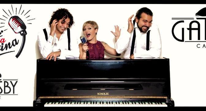 """20 ottobre 2018 """"Conosci mia cugina – Italian Swing!"""" al Gatsby Cafè"""