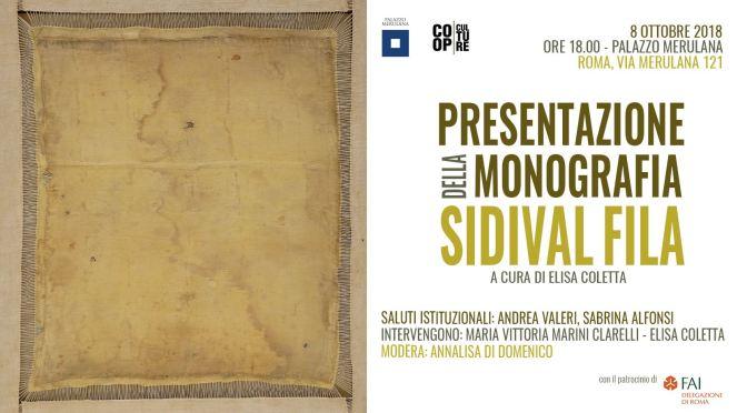 """8 ottobre 2018 – Presentazione della monografia """"Sidival Fila"""" al Palazzo Merulana"""