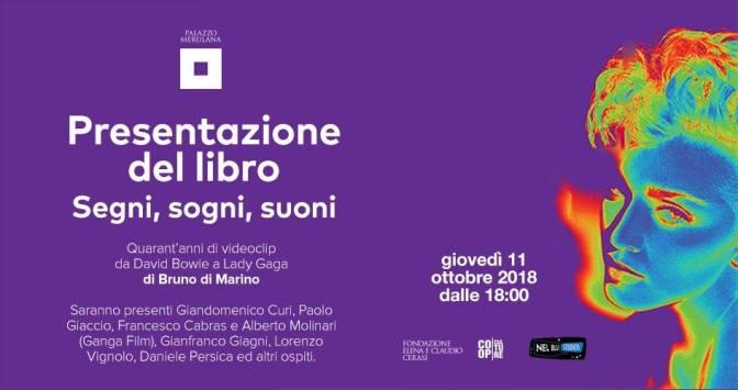 """11 ottobre 2018 – Presentazione del libro """"Segni, Sogni, Suoni"""" al Palazzo Merulana"""
