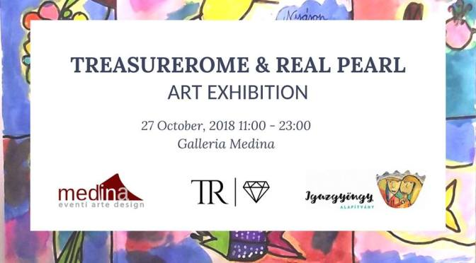 "27 ottobre 2017 ""TreasureRoma & Real Pearl"" e ""Alexia Molino Illustration"" allo Studio Medina"