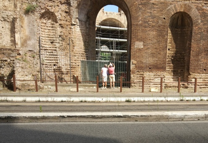 Terminati i restauri interni al cd. Tempio di Minerva Medica, ed ora ?