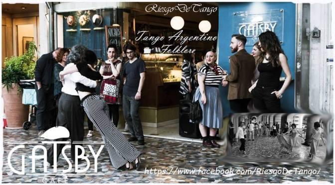 """3 novembre 2018 """"Tango e Folklore ai Portici di Piazza Vittorio"""" al Gatsby Café"""