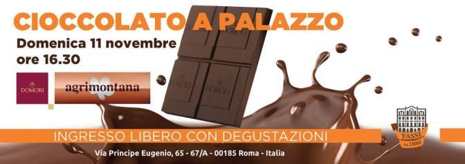 """11 NOVEMBRE """"CIOCCOLATO A PALAZZO"""" al Palazzo del Freddo Fassi"""