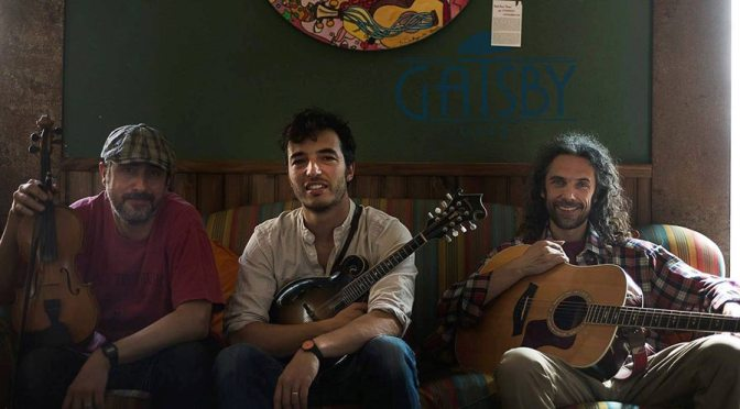 """22 febbraio 2019  """"Cocci Mountain String Band – Appalaci American Folk""""al Gatsby Cafè"""