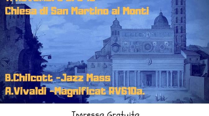 """11 novembre 2018 in occasione della """"Festa di strada"""" il Coro di Piazza Vittorio a San Martino ai Monti"""