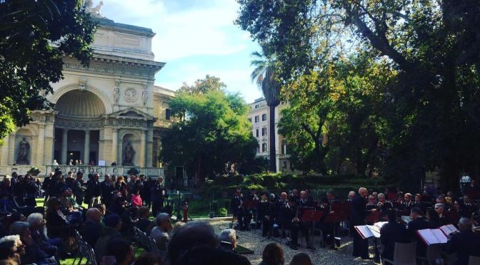Immagini e filmati della festa del 10 novembre 2018 all'Acquario Romano