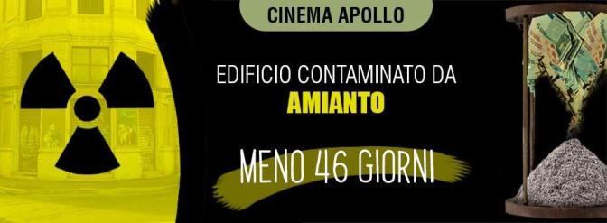 Appello alla Sindaca Virginia Raggi per la situazione disastrosa e pericolosa dell'ex Cinema Teatro Apollo