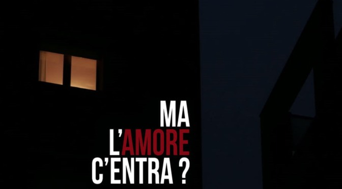 "12 novembre 2018 ""Ma l'amore non c'entra?"" all'Apollo 11"