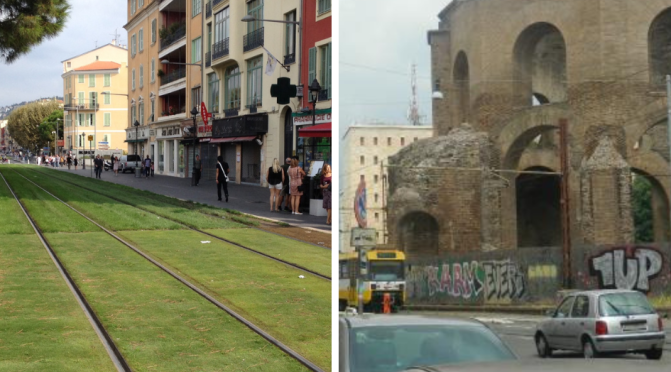 """Il mondo dei sogni e la dura realtà di via Giolitti – raccolta firme per fermare temporaneamente il """"trenino"""" a Porta Maggiore"""