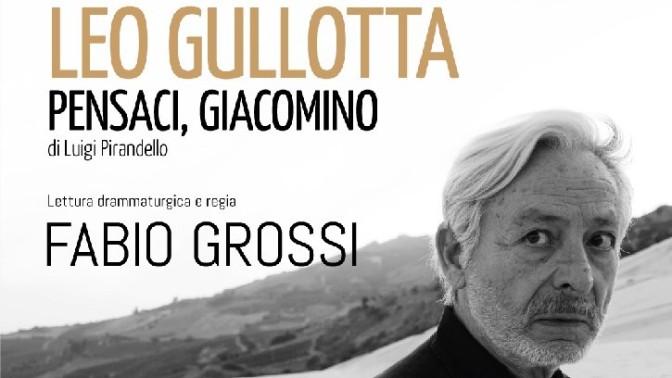 """14 – 25 novembre 2018 """"Pensaci Giacomino"""" al Teatro Jovinelli"""