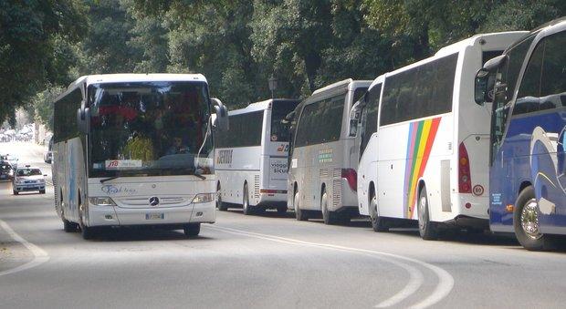 """Lettera aperta della rete """"Motus"""" alla Sindaca sul problema dei Bus Turistici nel Centro di Roma"""