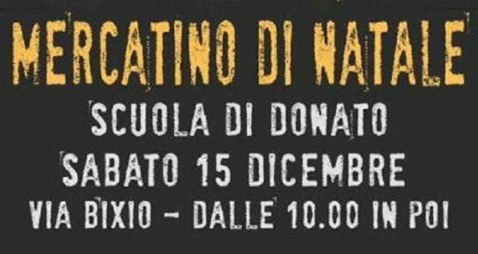 """15 dicembre 2018 """"Mercatino di Natale"""" alla Scuola Di Donato"""