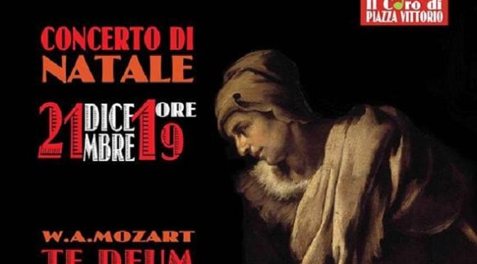 21 dicembre 2018 Concerto di Natale del Coro di Piazza Vittorio presso la Chiesa di San Vito