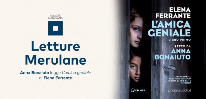 """14 dicembre 2018 Anna Bonaiuto legge """"L'amica geniale"""" al Palazzo Merulana"""