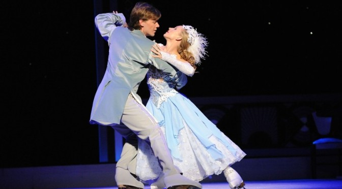 "15 – 20 gennaio 2019 ""Cenerentola on ice"" al Teatro Brancaccio"