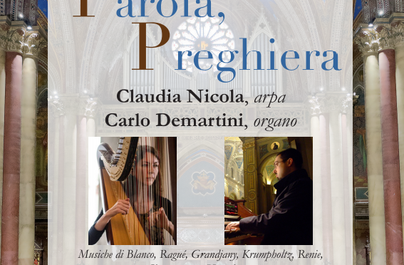 """""""Concerto per Arpa e Organo"""" presso la chiesa di Santa Maria Immacolata all'Esquilino – Rinviato a data da destinarsi"""