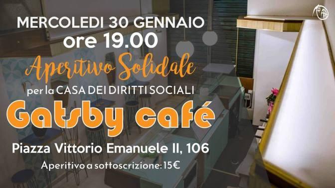 """30 gennaio 2019 """"Today, Tomorrow, to Nino"""" aperitivo solidale presso Gatsby Cafè"""