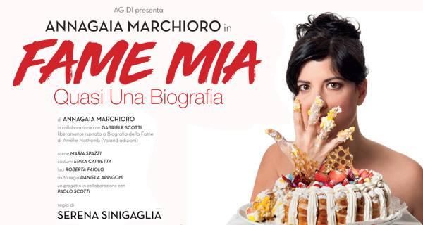 "24 – 27 gennaio 2019 ""Fame mia"" al Teatro Brancaccino"